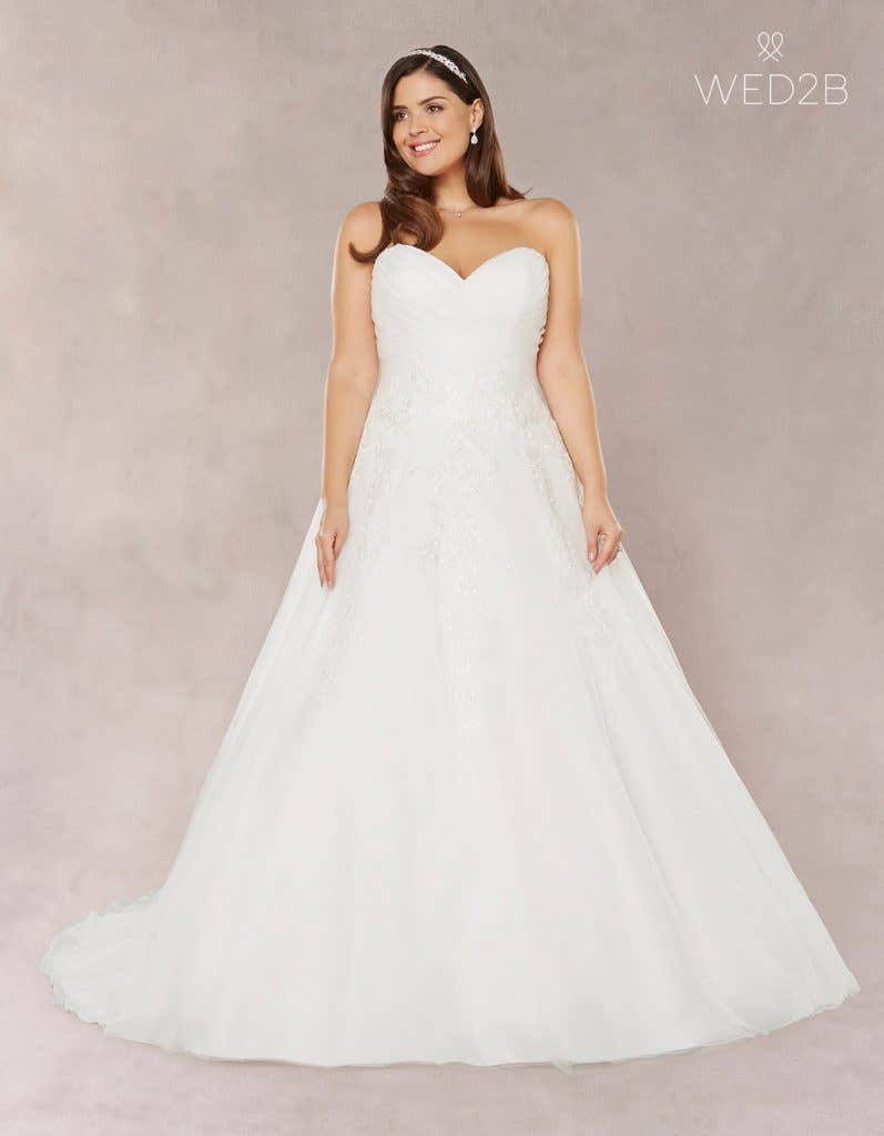 b74b9f5b268 Brand new plus size wedding dresses…