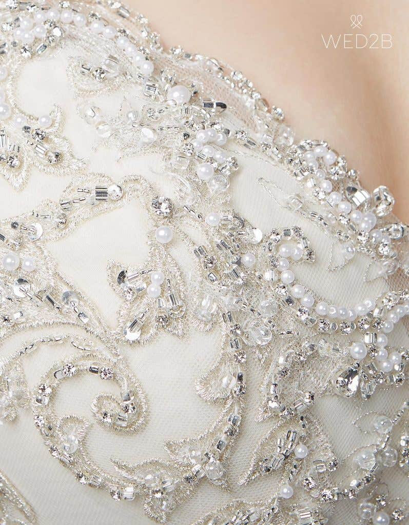 Three of the best… wedding dresses with straps - Federica