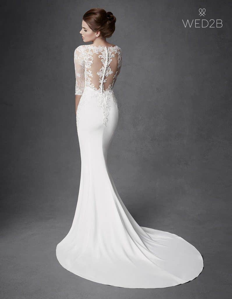 Find your dream illusion back wedding dress… - Jourdan