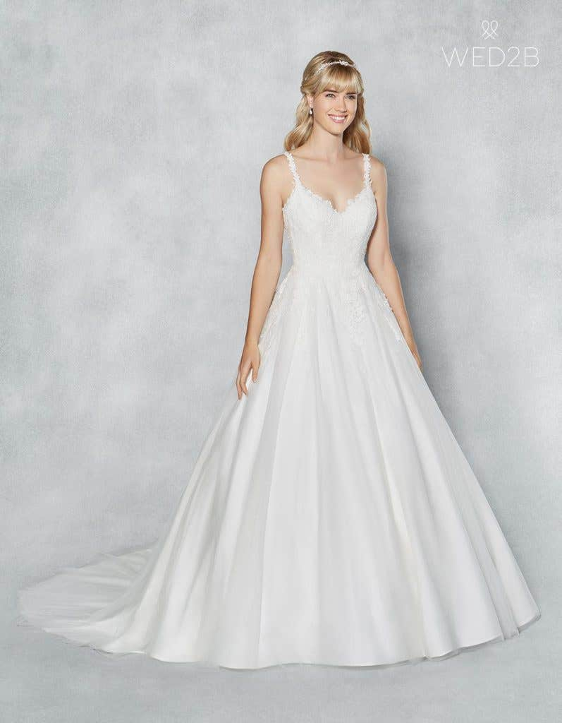 Three thoroughly modern princess gowns… - Mallory