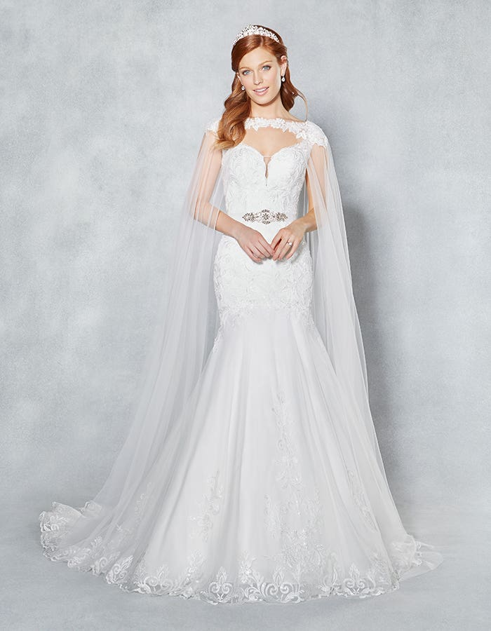 Coloured wedding dresses with wow factor - Valerie