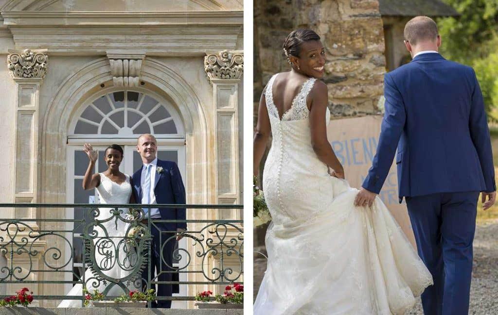 Real Wedding Normandy: Kimairis and Bertrand's musical celebration - Callista