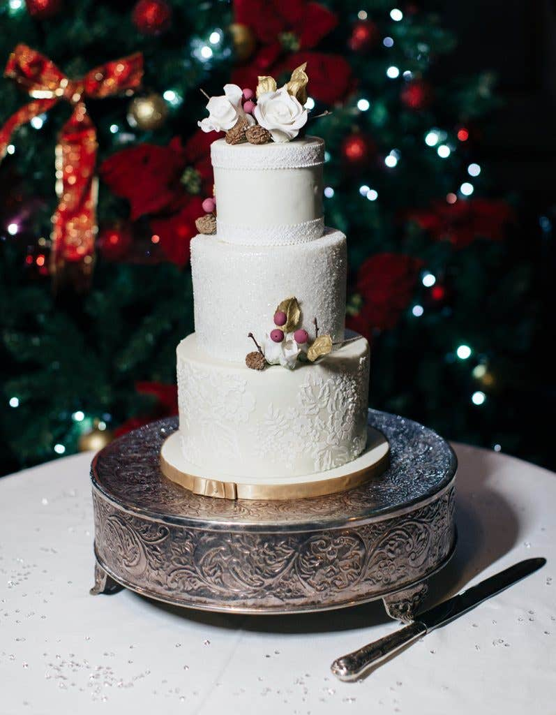 Real Weddings Exeter: Lucy and Will's Christmas celebration