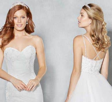 Why we love… romantic sweetheart wedding gowns