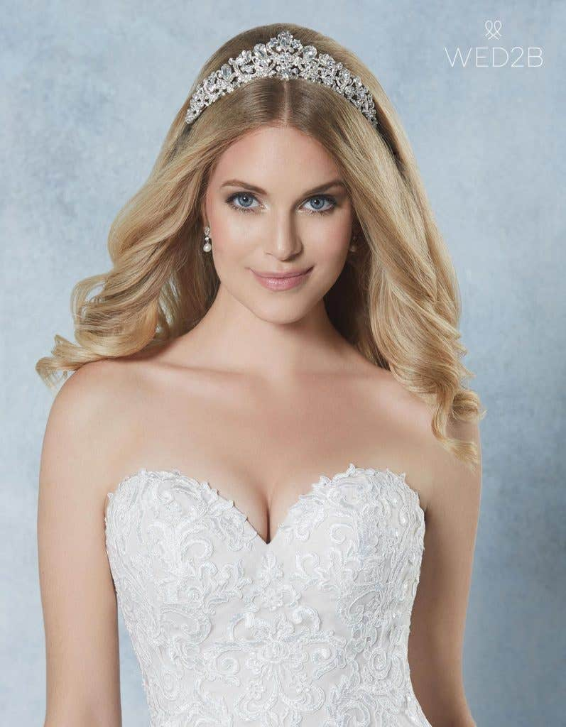 Breathtaking new bridal hair jewellery - Alexi