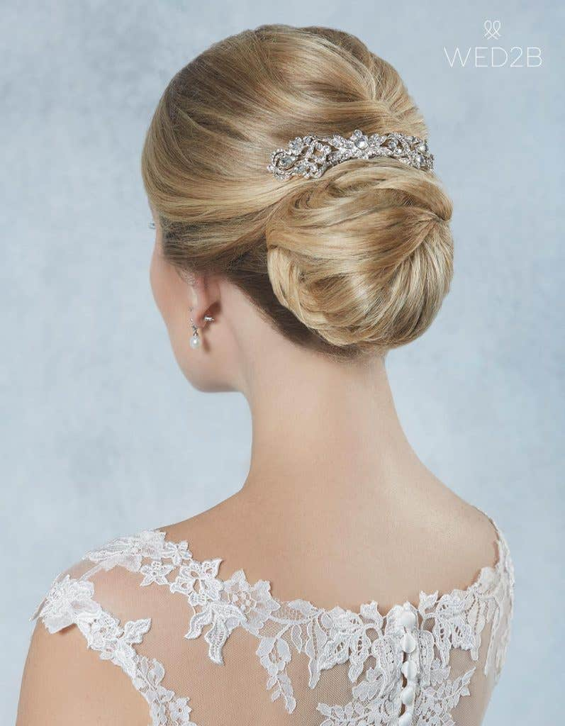 Breathtaking new bridal hair jewellery - Alpha