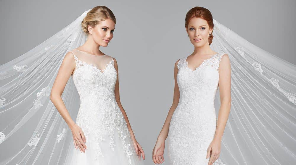 Fabulous vintage style wedding dresses from Anna Sorrano