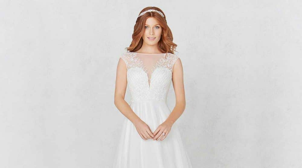 Unique lace wedding gowns from Heidi Hudson