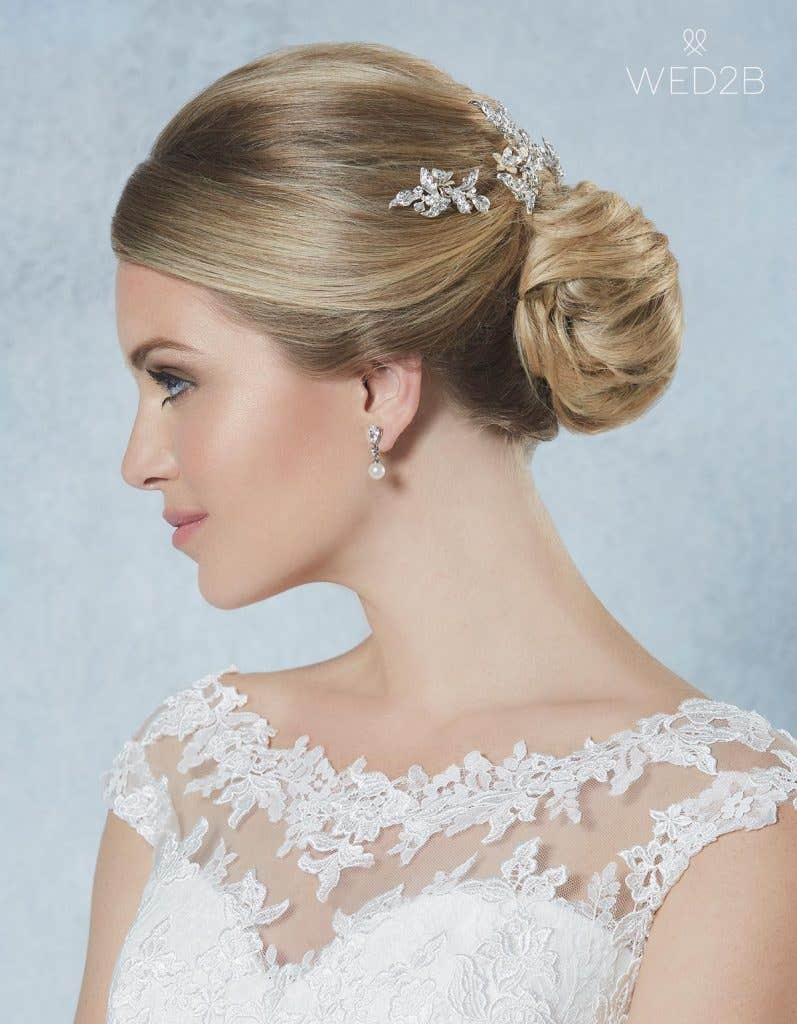 Breathtaking new bridal hair jewellery - Honey