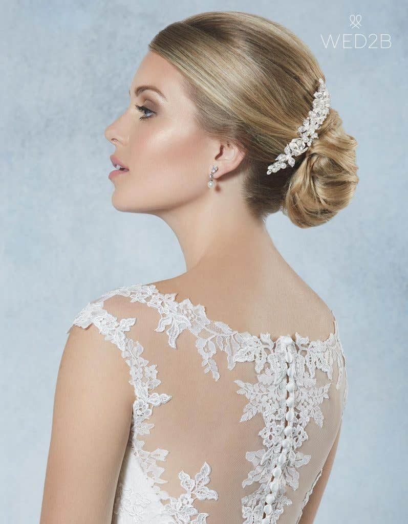 Breathtaking new bridal hair jewellery - Odetta