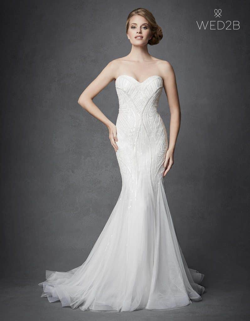 Fabulous vintage style wedding dresses from Anna Sorrano - Osiris