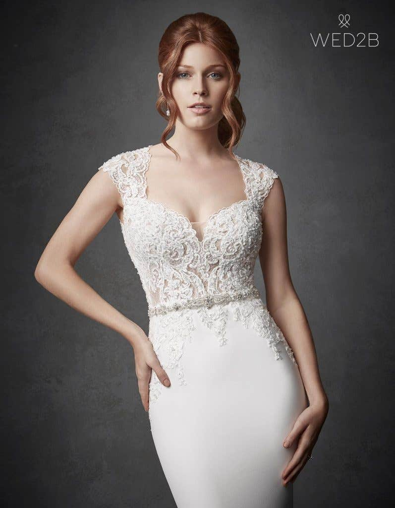 Fabulous vintage style wedding dresses from Anna Sorrano - River