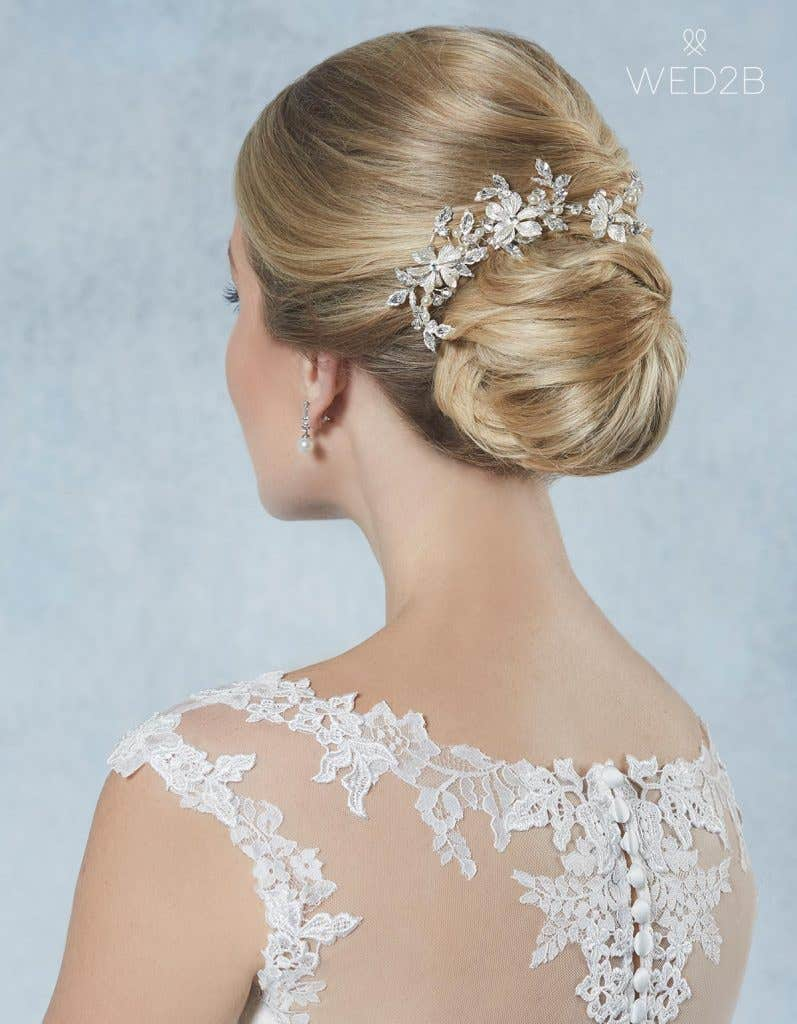 Breathtaking new bridal hair jewellery - Safia