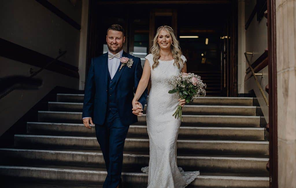 Real Weddings Liverpool: Jessica and Danny's intimate town hall wedding - Summer