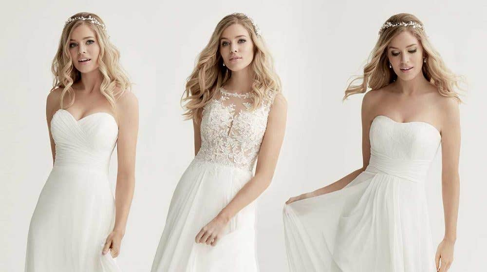 Breathtaking boho wedding dresses, in store now