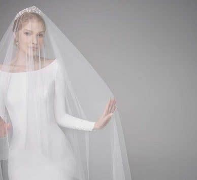 Stylishly simple wedding dresses