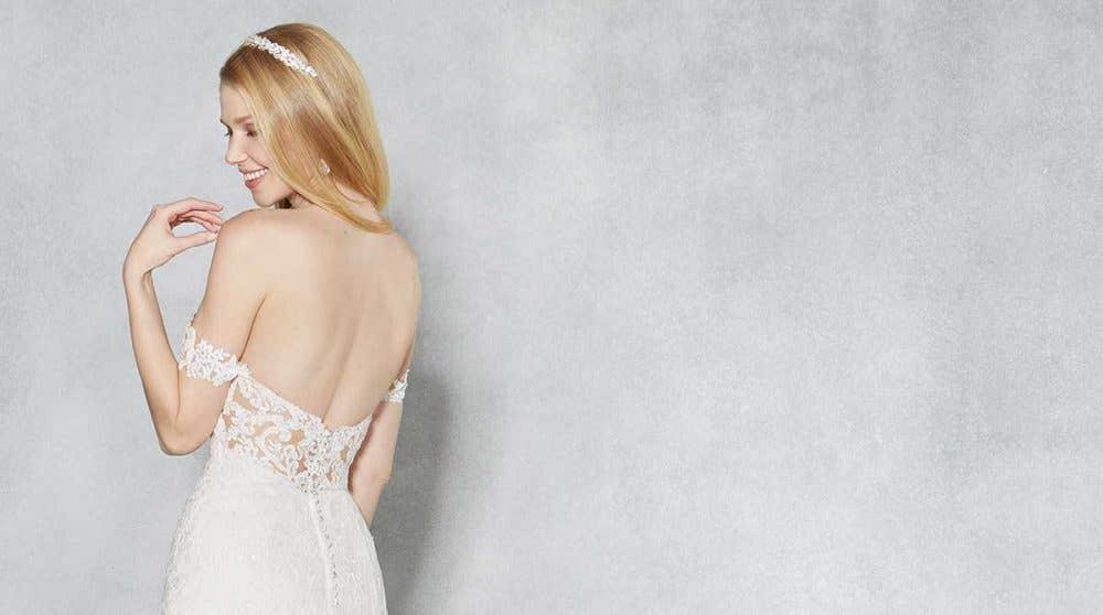 Three brand new vintage wedding dresses