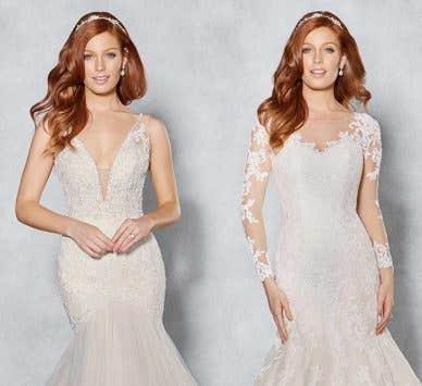 Discover your dream blush wedding dress