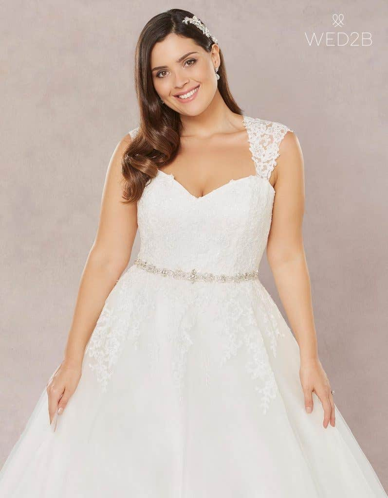 Brand New Plus Size Wedding Dresses Wed2b Uk Blog