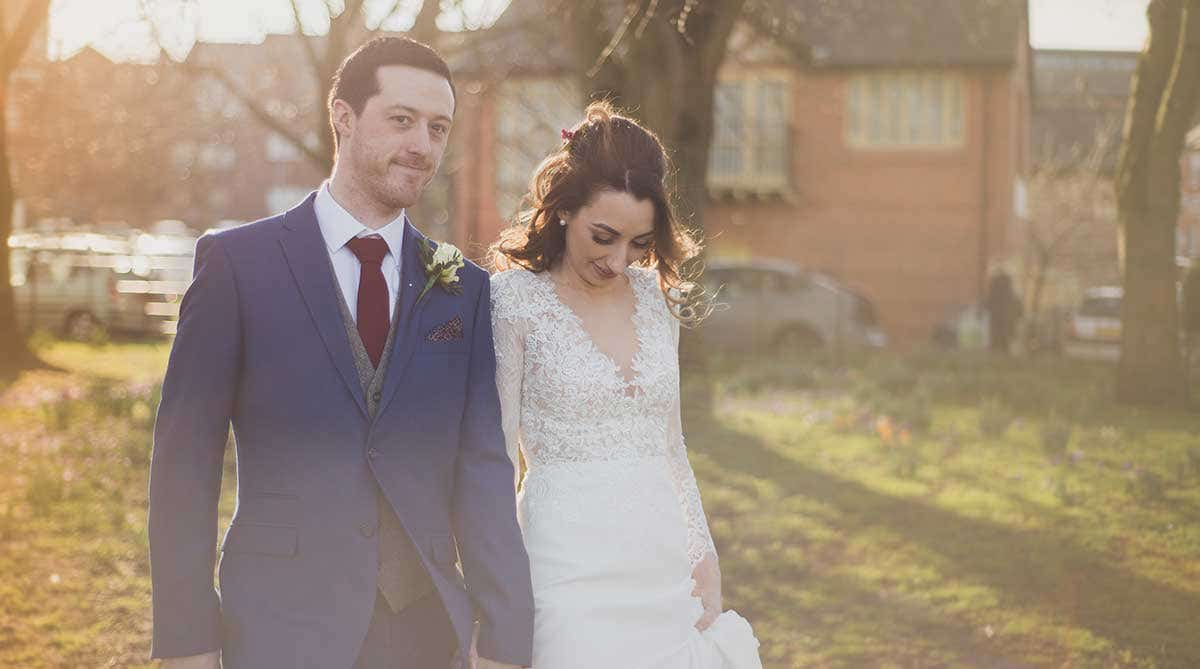 Real Weddings Bolton: Rachel and Jonathan's intimate wedding day