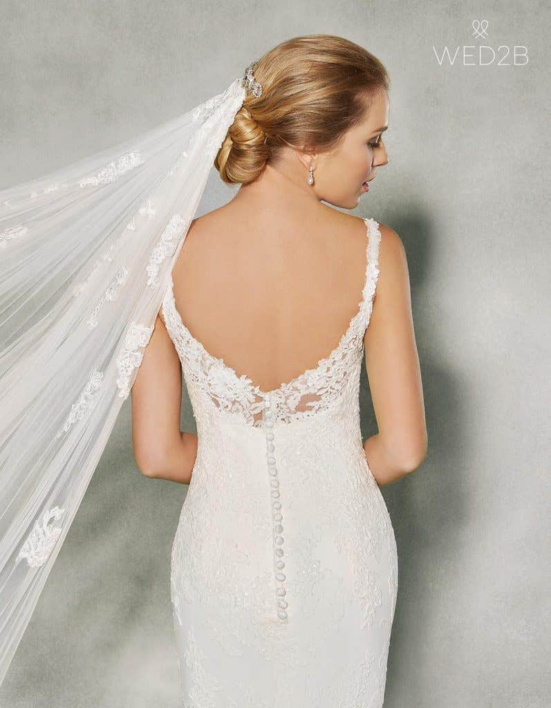 Sensational wedding dresses with straps - Lavinia