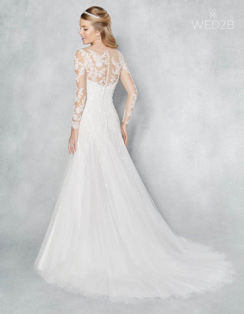 a0e948dab654 Three magical modern wedding dresses… | WED2B UK BLOG