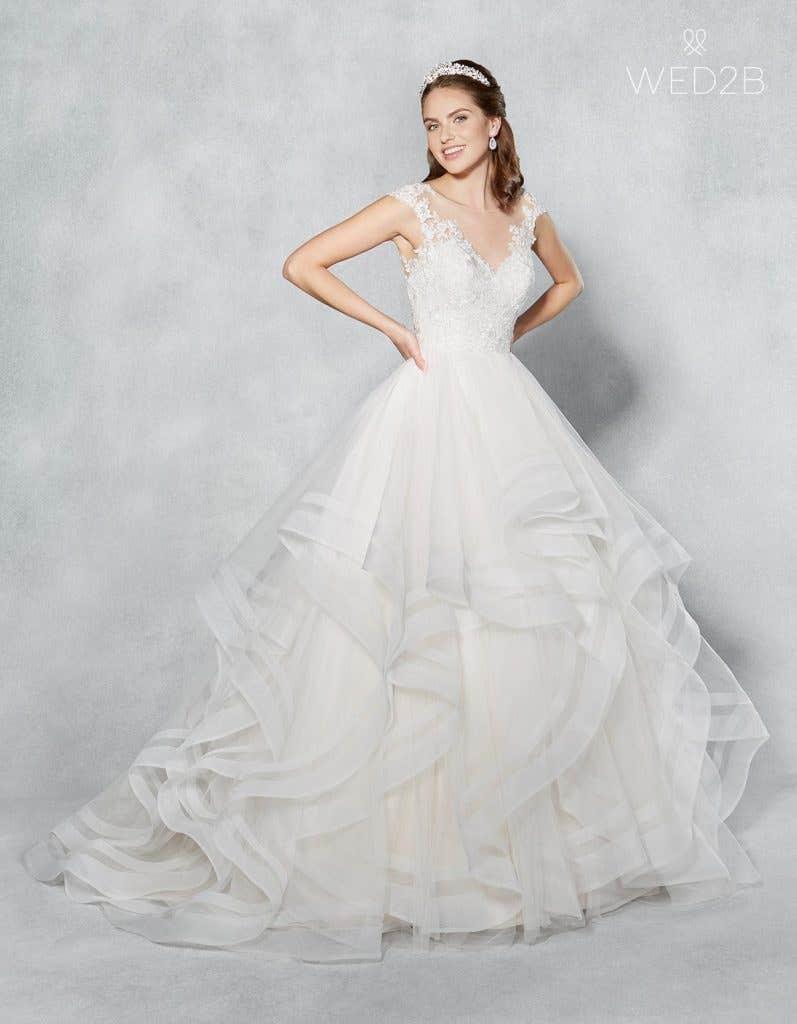 eb69413e6658 Blush Mermaid Wedding Dress Uk