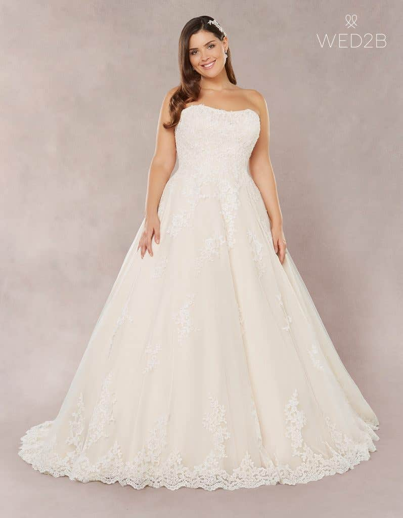 aeb03dc365a Brand new plus size wedding dresses… - Tilly