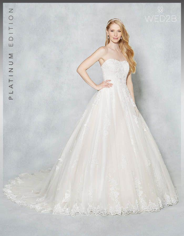 Brand new princess wedding dresses… Hayley