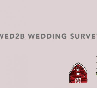 The WED2B 2018 Wedding Survey: All the latest wedding trends revealed!