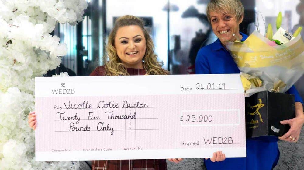 We reveal our £25k competition winner!