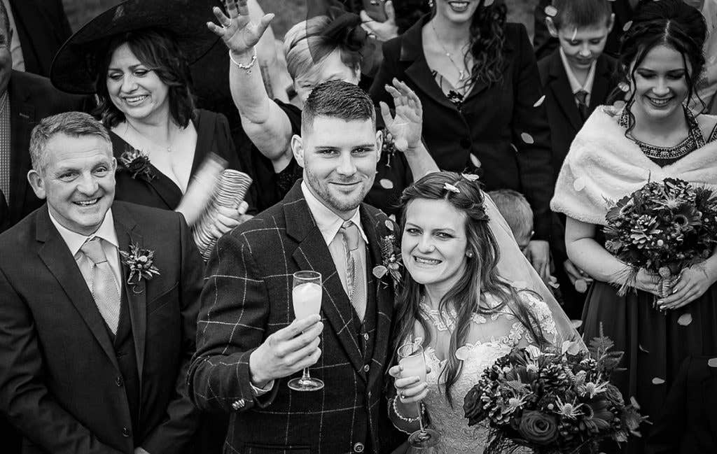 Real Weddings Stoke-on-Trent: Ruby and Nicholas's festive small wedding - Breanna