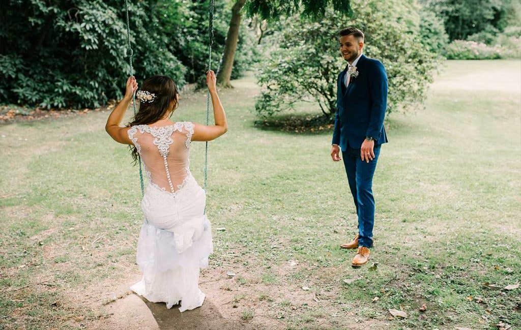 Real Weddings Brighton: Sally and Matt's beautiful hotel wedding - Eleni