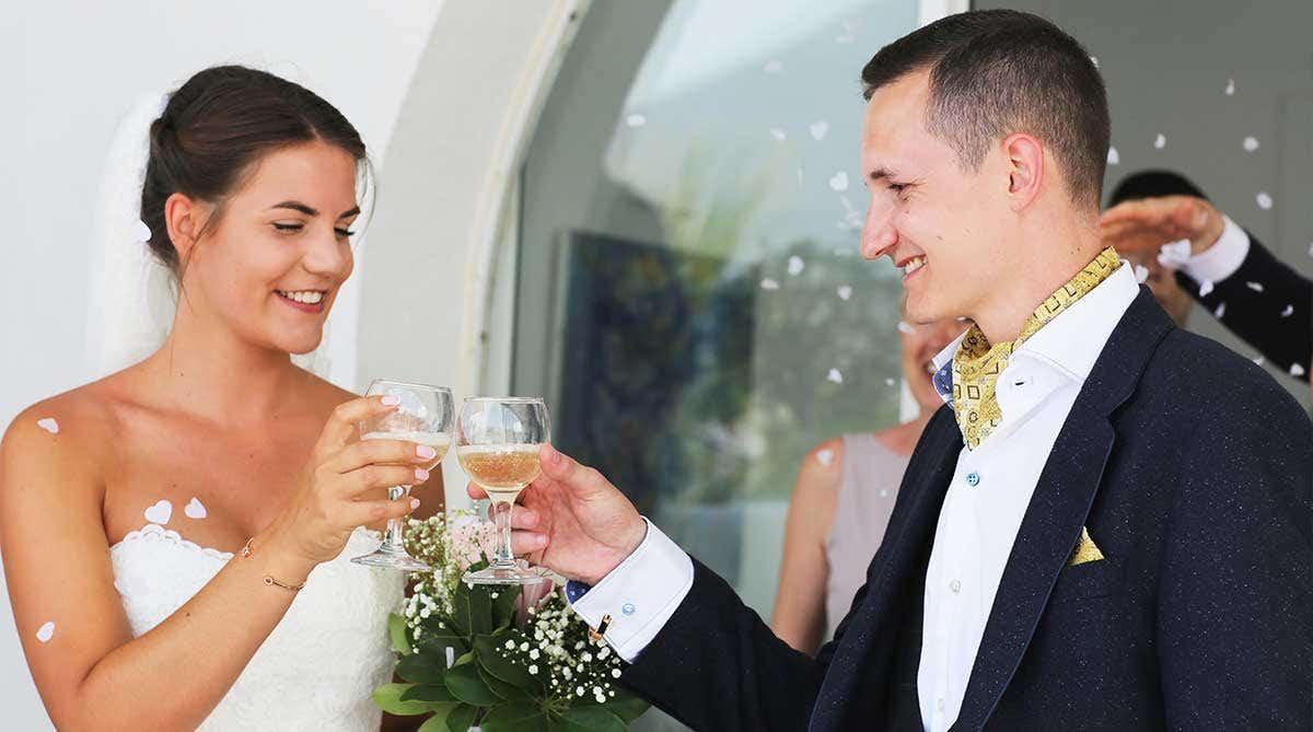Real Weddings Southampton: Laura and Jack's glorious Greek wedding
