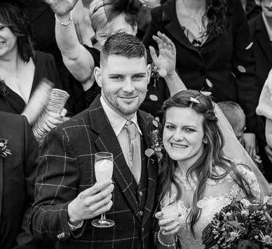 Real Weddings Stoke-on-Trent: Ruby and Nicholas's festive small wedding