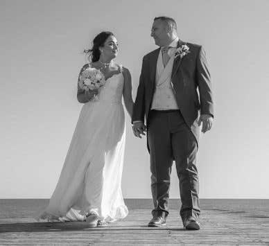 Real Weddings Swindon: Aimee and Kevin's beautiful wedding abroad