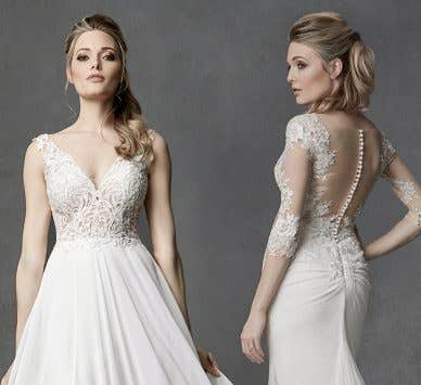 Irresistibly sexy wedding dresses from our Signature Collection