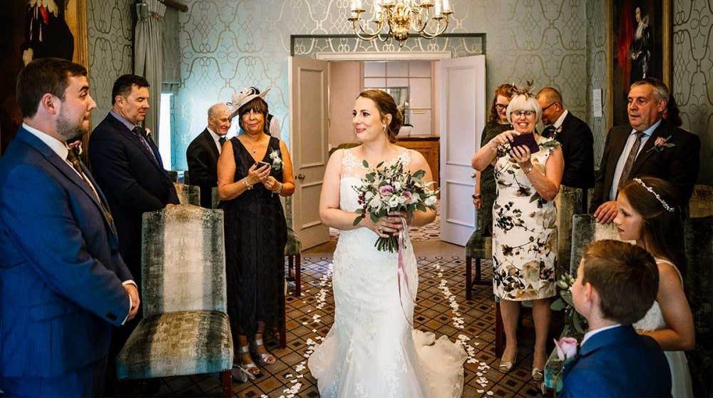 Real Weddings Leeds: Sue and Rob's delightful small wedding