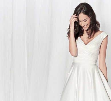 Four truly elegant wedding dresses