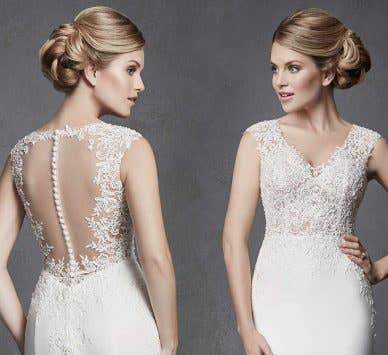 How to wear… open back wedding dresses