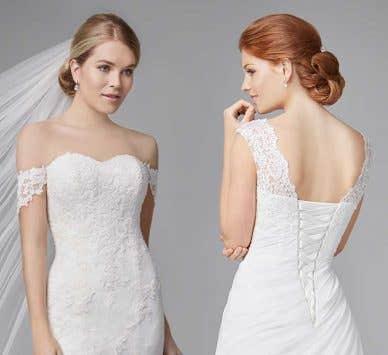 Revealed… four brand new wedding dresses!