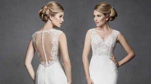 How to wear… open back wedding dresses