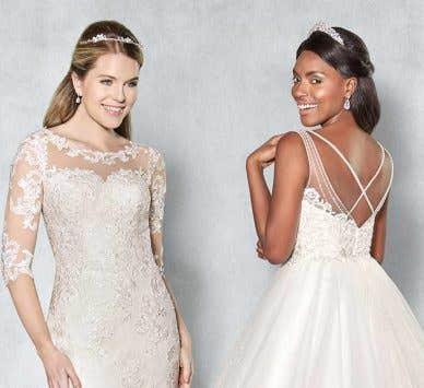 Find your dream illusion wedding dress