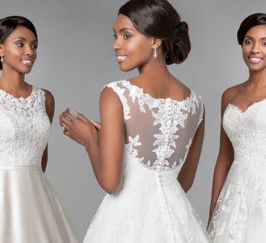 Three of the best… traditional wedding dresses