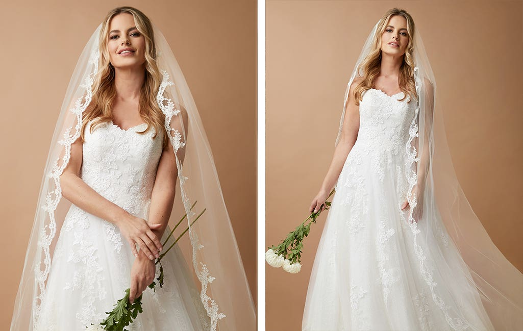 Maisie a wedding veil by Amixi