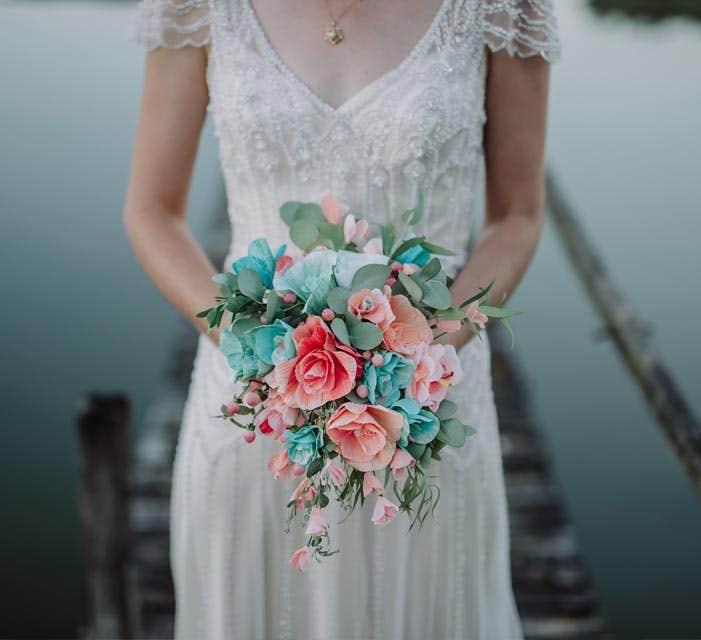 Meet the suppliers: The wedding florists - Petal and Bird
