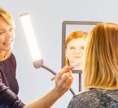 Meet the suppliers: The makeup artist