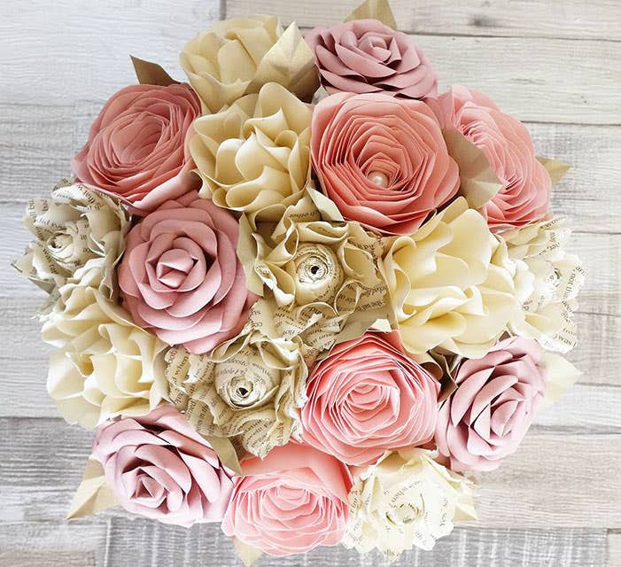 Meet the suppliers: The wedding florists - Paper Bouquets