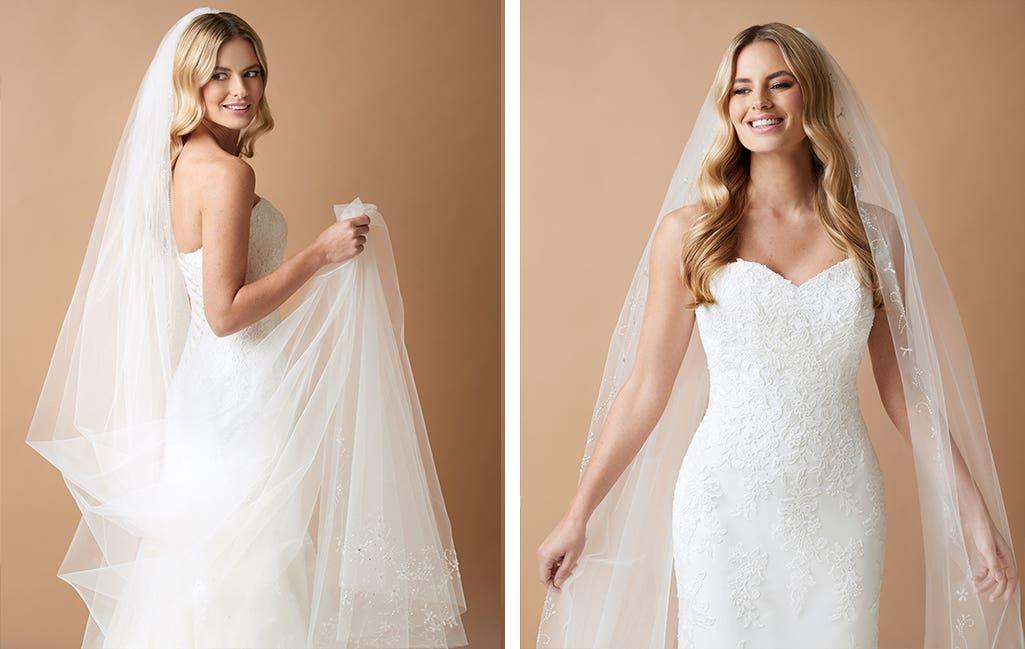 Rococo a wedding veil by Amixi