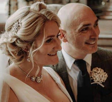 Real Weddings: Rachel and Lee's small Cheshire wedding